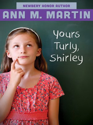 cover image of Yours Turly, Shirley