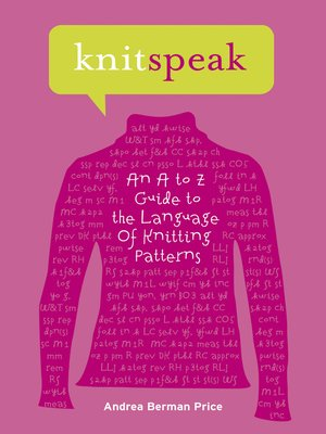 cover image of Knitspeak