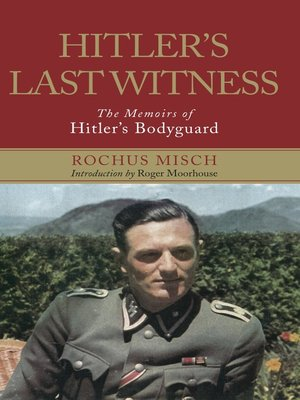 cover image of Hitler's Last Witness