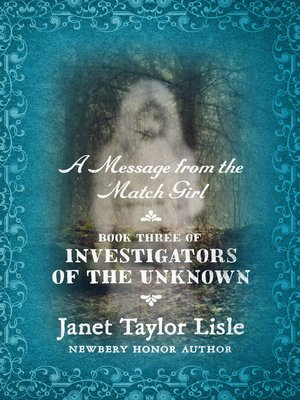 cover image of Message from the Match Girl