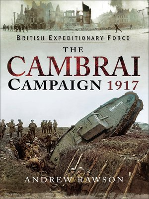 cover image of The Cambrai Campaign, 1917