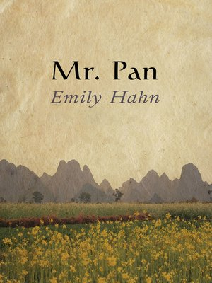 cover image of Mr. Pan