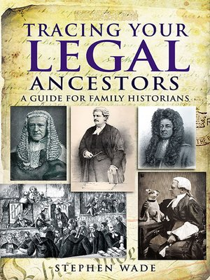 cover image of Tracing Your Legal Ancestors