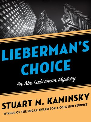 cover image of Lieberman's Choice