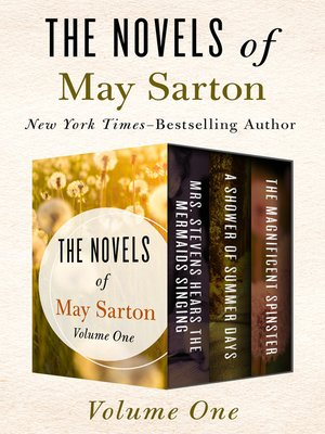cover image of The Novels of May Sarton Volume One