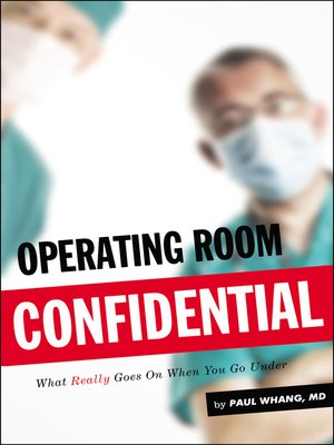 cover image of Operating Room Confidential