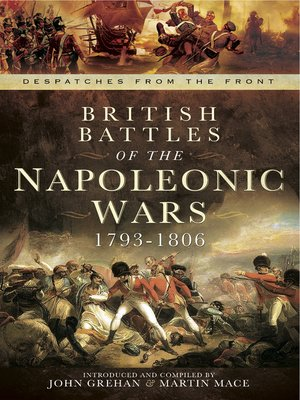 cover image of British Battles of the Napoleonic Wars, 1793–1806