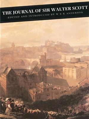 cover image of The Journal of Sir Walter Scott