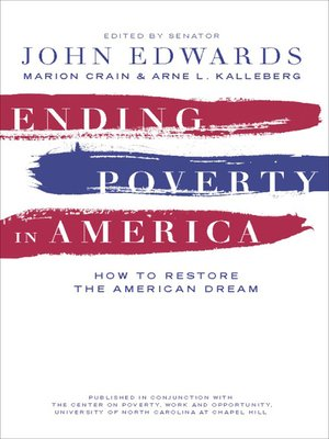 cover image of Ending Poverty in America
