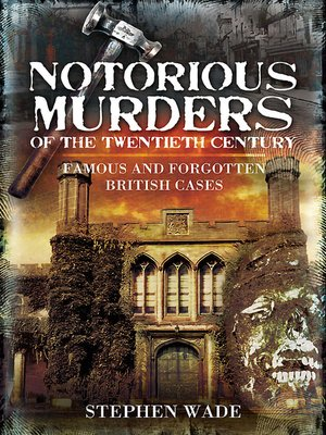 cover image of Notorious Murders of the Twentieth Century