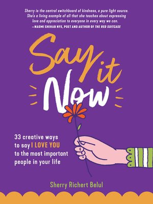 cover image of Say It Now