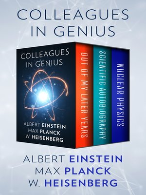 cover image of Colleagues in Genius