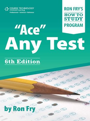 """cover image of """"Ace"""" Any Test"""
