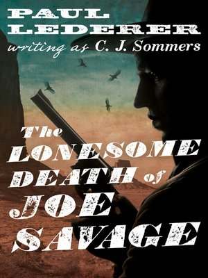 cover image of Lonesome Death of Joe Savage