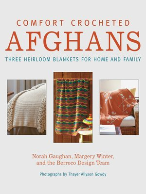 cover image of Comfort Crocheted Afghans