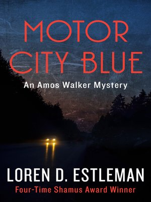 cover image of Motor City Blue