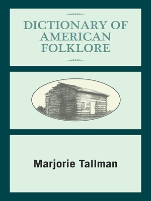 cover image of Dictionary of American Folklore