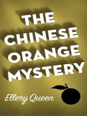 cover image of Chinese Orange Mystery
