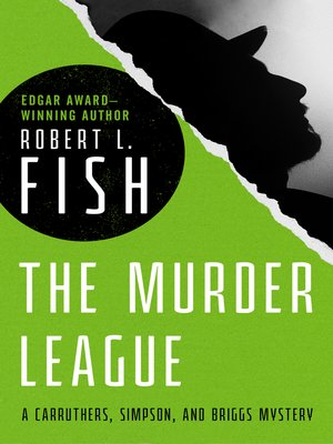cover image of The Murder League