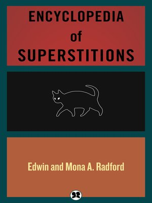 cover image of Encyclopedia of Superstitions