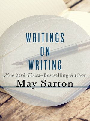 cover image of Writings on Writing