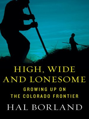 cover image of High, Wide and Lonesome