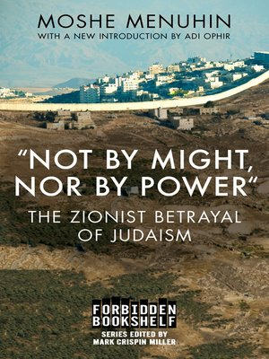 "cover image of ""Not by Might, Nor by Power"""