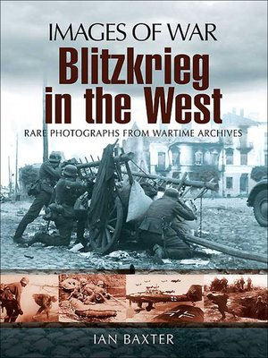 cover image of Blitzkrieg in the West