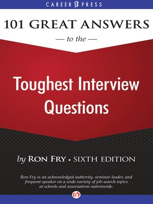 101 great answers to the toughest interview questions - Librarian Interview Questions For Librarians With Answers