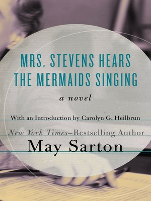 cover image of Mrs. Stevens Hears the Mermaids Singing