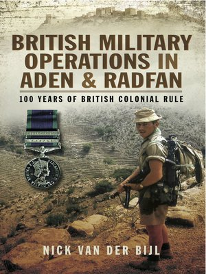 cover image of British Military Operations in Aden and Radfan
