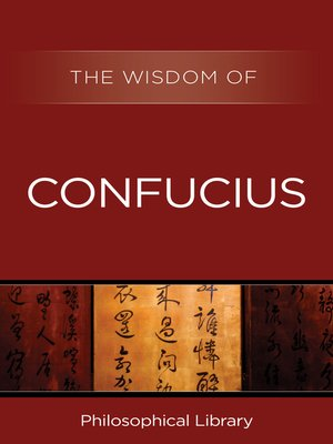 cover image of The Wisdom of Confucius