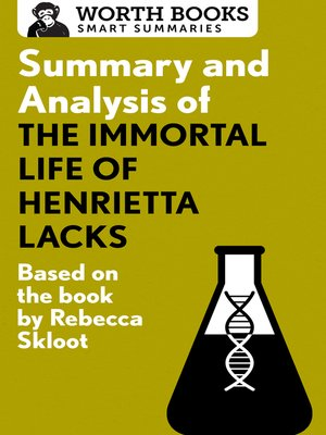 cover image of Summary and Analysis of the Immortal Life of Henrietta Lacks