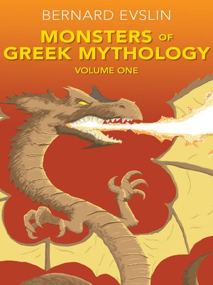 cover image of Monsters of Greek Mythology, Volume One