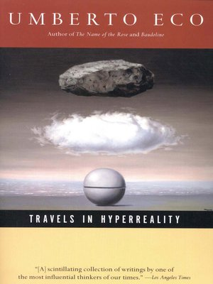 cover image of Travels in Hyperreality