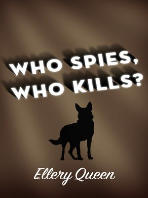 cover image of Who Spies, Who Kills?