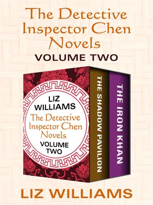 cover image of The Detective Inspector Chen Novels Volume Two