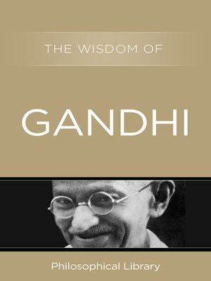 cover image of The Wisdom of Gandhi