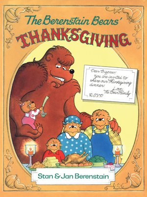 cover image of The Berenstain Bears' Thanksgiving