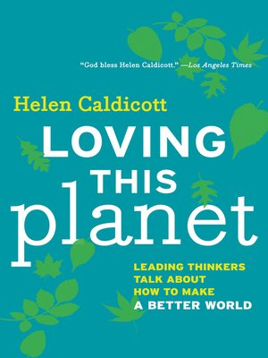 cover image of Loving This Planet