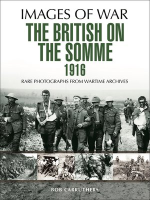 cover image of The British on the Somme 1916