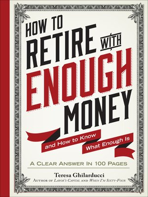 cover image of How to Retire With Enough Money