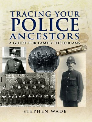 cover image of Tracing Your Police Ancestors