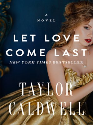 cover image of Let Love Come Last