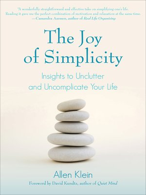 cover image of The Joy of Simplicity