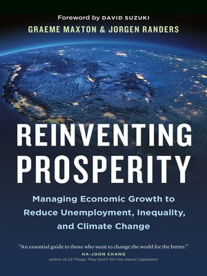 cover image of Reinventing Prosperity