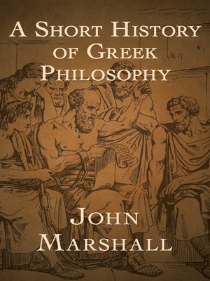 cover image of A Short History of Greek Philosophy