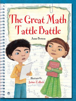 cover image of Great Math Tattle Battle