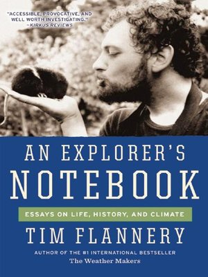 cover image of An Explorer's Notebook