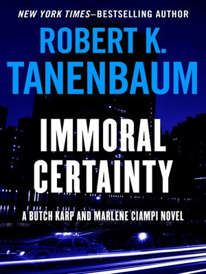 cover image of Immoral Certainty
